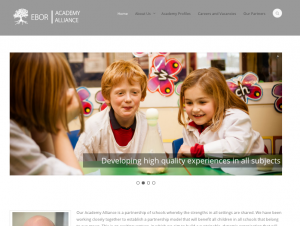 Ebor Academy Trust Website Screenshot