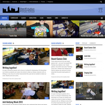 Sheriff Hutton Primary School Website