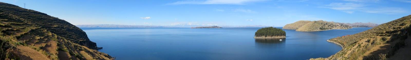 Lake Titicaca pano