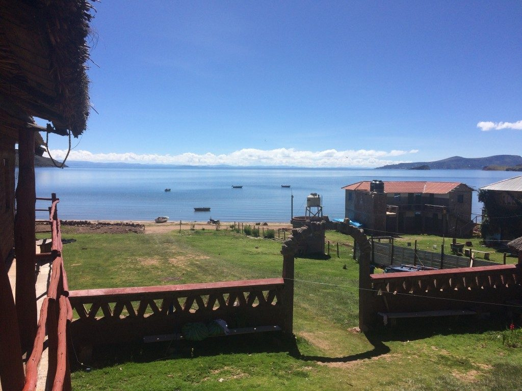 Camp Titicaca - view of the lake
